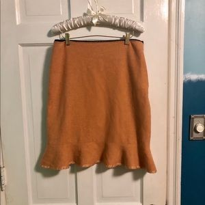 Adorable Anthropologie winter skirt!